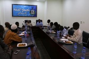 المتدربون في مشروع رواد التنمية يزورون مجمع الفقه الاسلامي (4)
