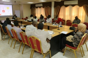 المعهد ينظم ورشة حول تنمية