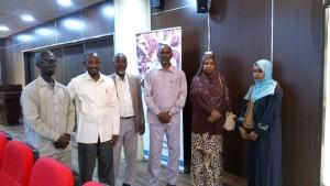 (9) من منسوبي المنظمة يشاركون في ورشة التقنية في المؤسسات الخيرية