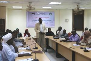 المعهد ينظم اسبوع التدريب التطوعي الثاني (1)